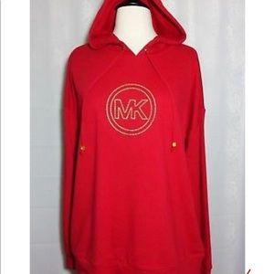 Michael Kors red hoodie